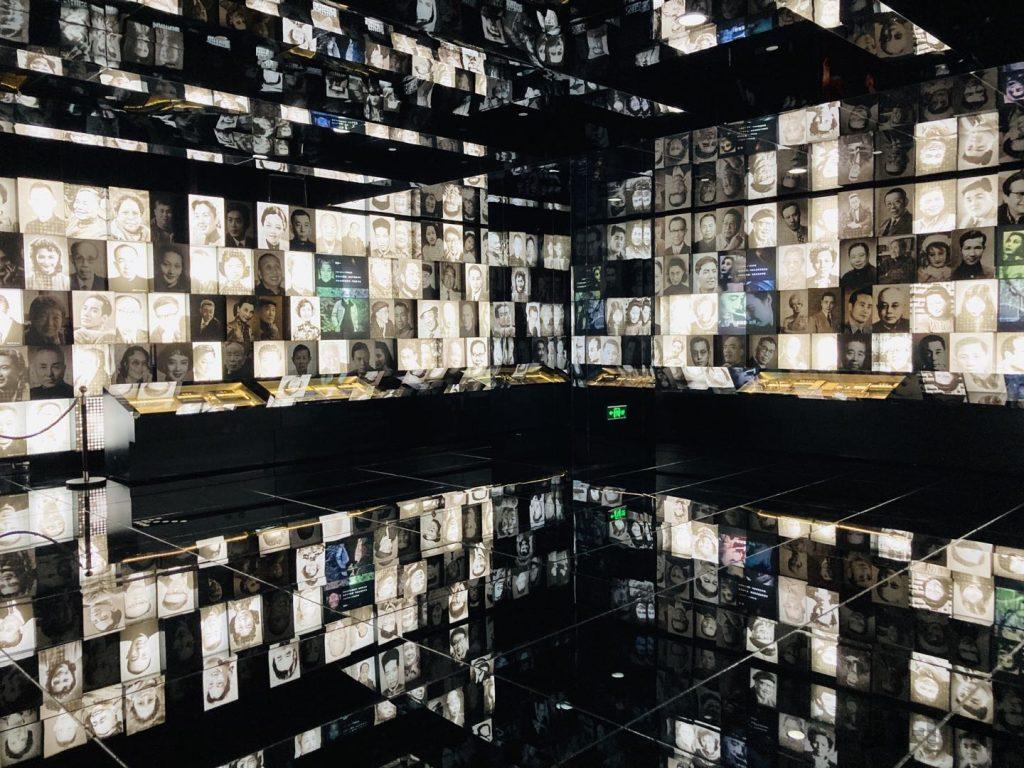 上海映画博物館人の写真