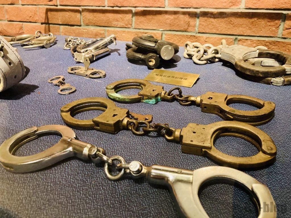 上海公安博物館 手錠