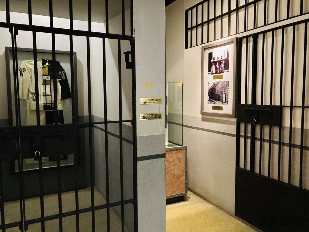 上海公安博物館 牢獄モデル