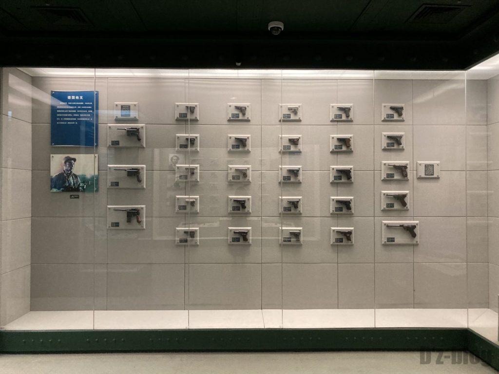 上海公安博物館 他国の拳銃3