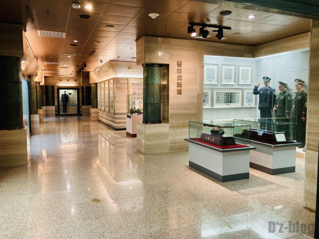 上海公安博物館 警部交流館