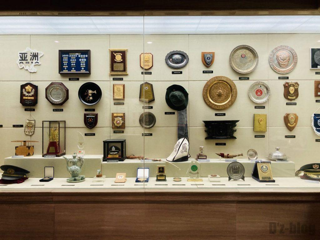 上海公安博物館 アジアの警察部隊道具