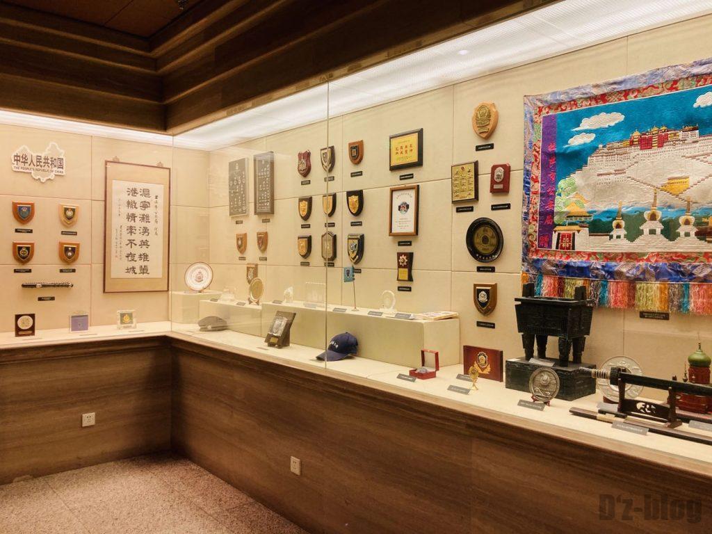 上海公安博物館 中華人民共和国警部隊道具