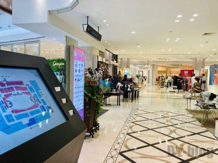 上海新世界大丸百貨店 館内4フロア