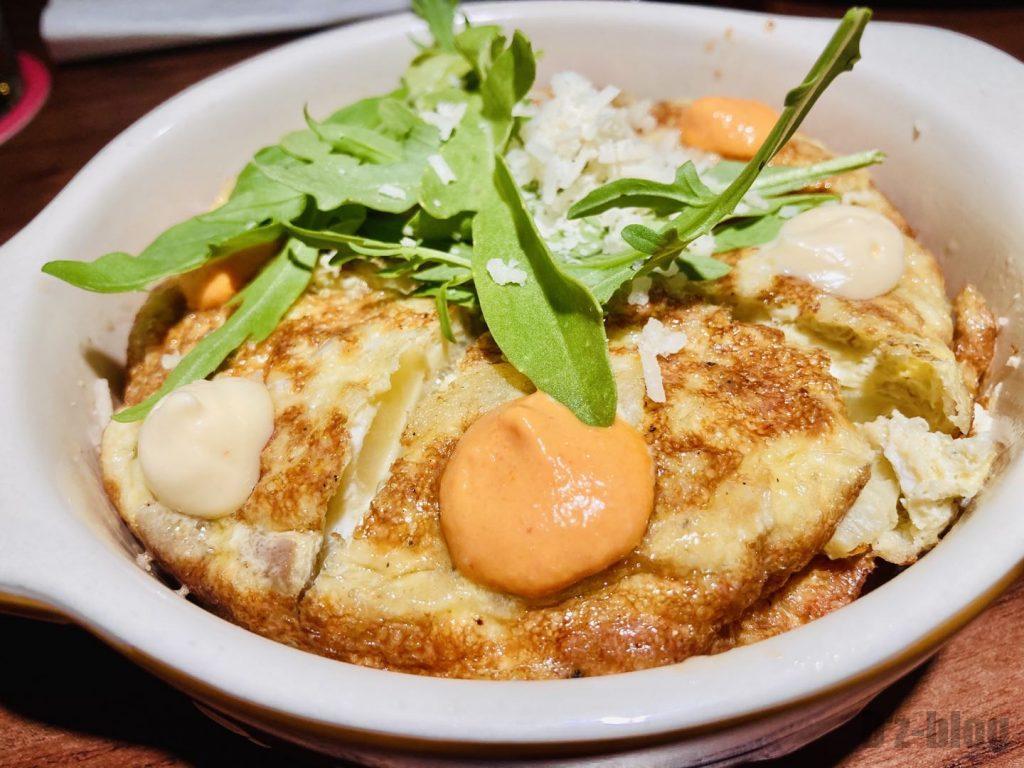 上海TapaTapa じゃがいもと玉子の料理