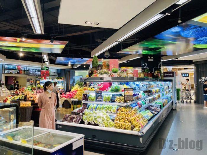 上海新世界大丸百貨店 Ole 果物