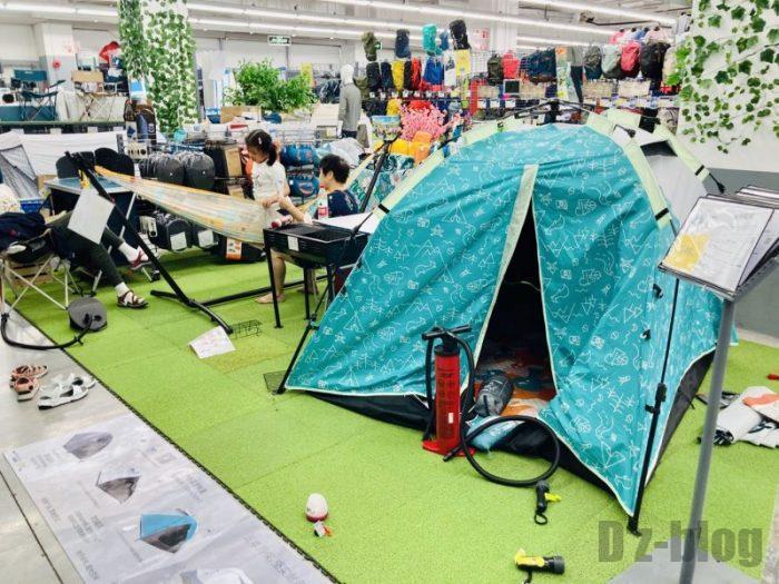 上海DECATHLON テント