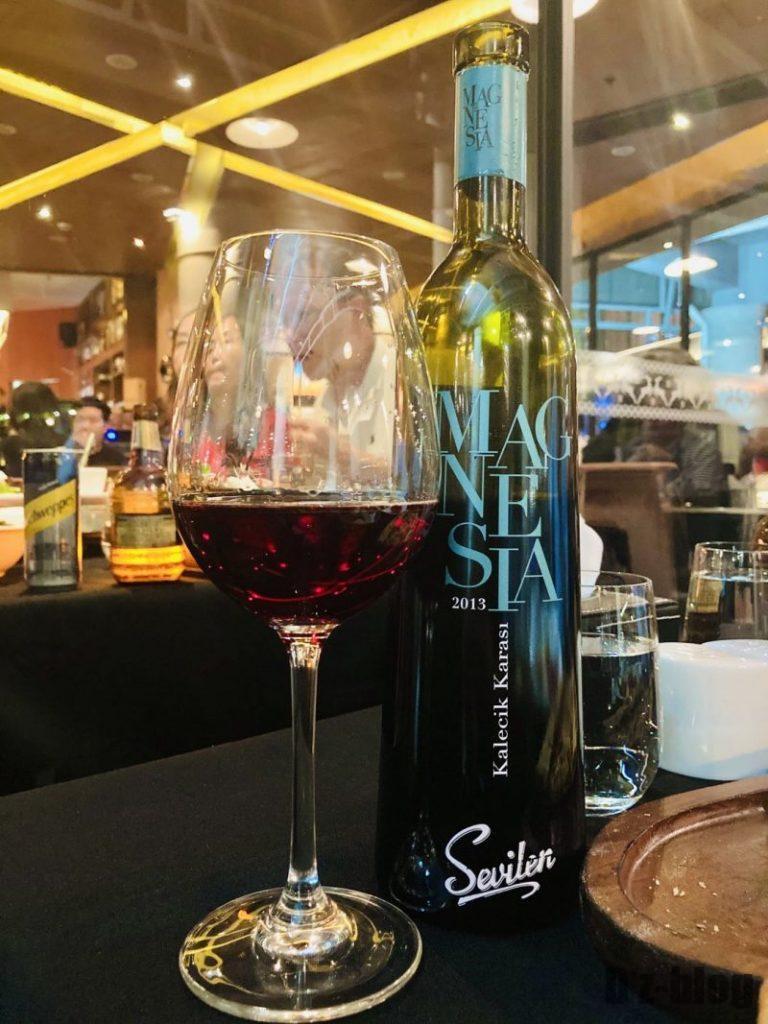 上海EFES TURKISH トルコワイン