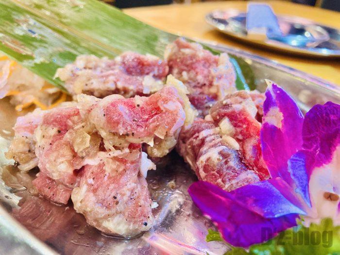 上海肉力屋 バター漬けハラミ