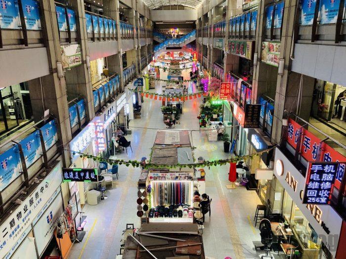 上海大満商店 ビル内