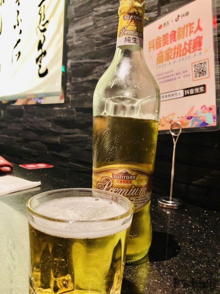 上海捞王 ビール
