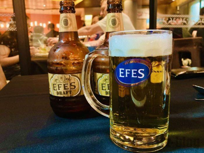 上海EFES TURKISH  トルコビール