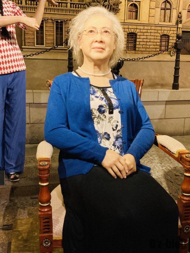 上海城市歴史発展陳列館 女優に似せたマネキン