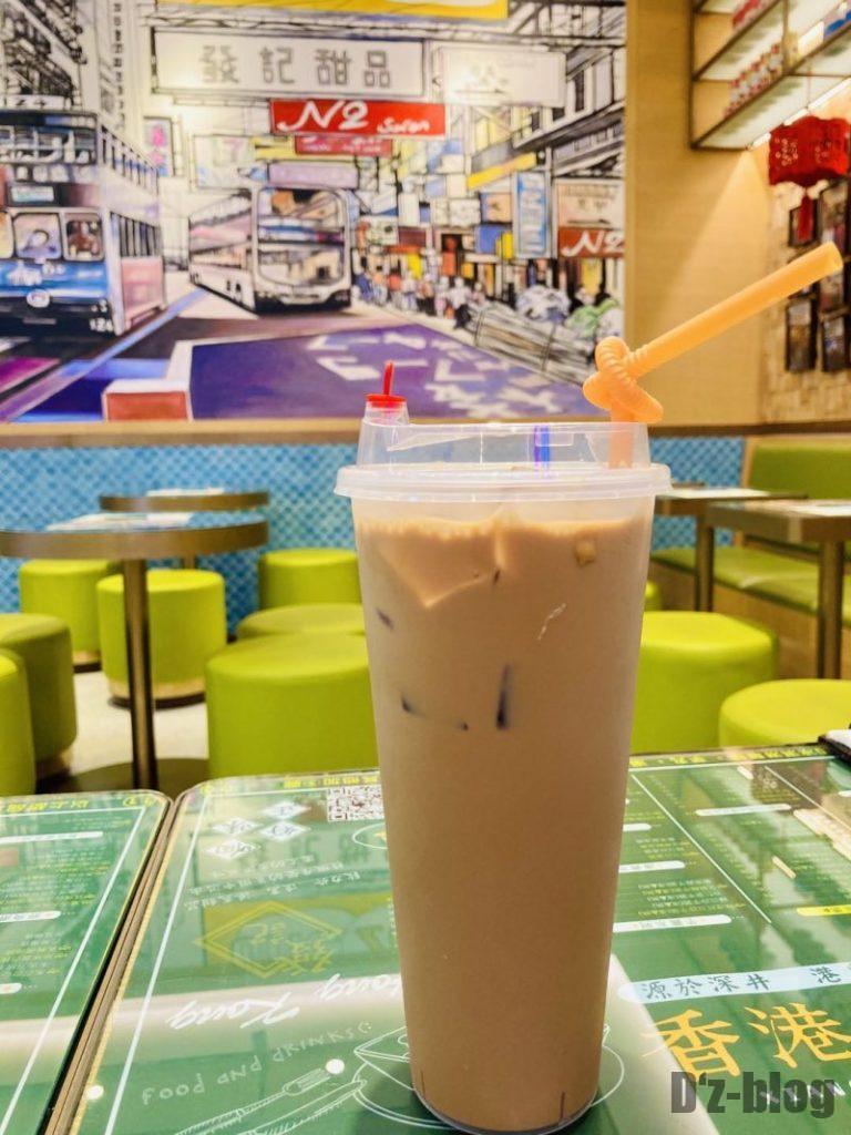 上海發记甜品 ミルクティー