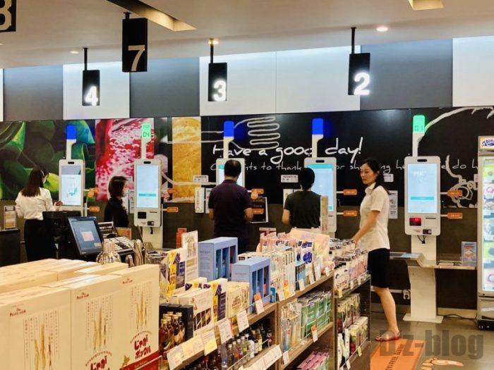 上海新世界大丸百貨店 Ole自動精算機