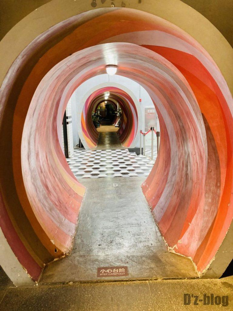 上海大悦城 霓虹街中の入り口