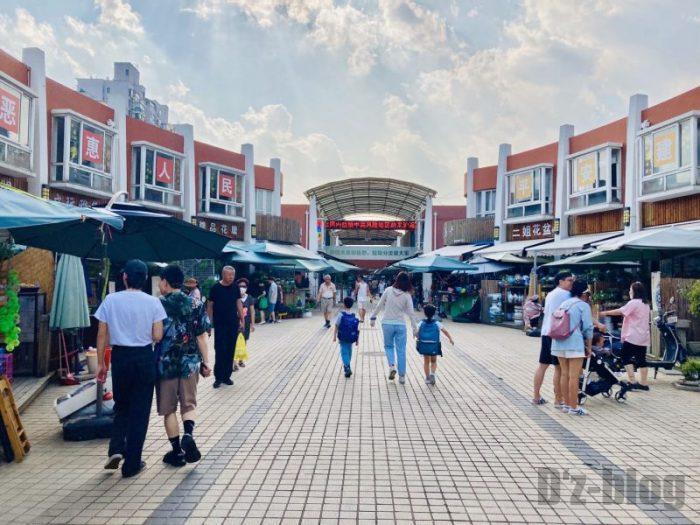 上海岚灵花鳥市場 入口