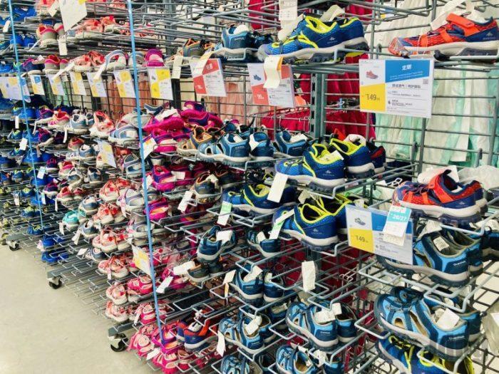 上海DECATHLON 子供靴