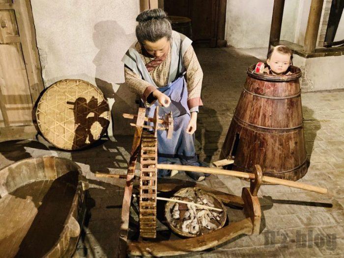 上海城市歴史発展陳列館 内職