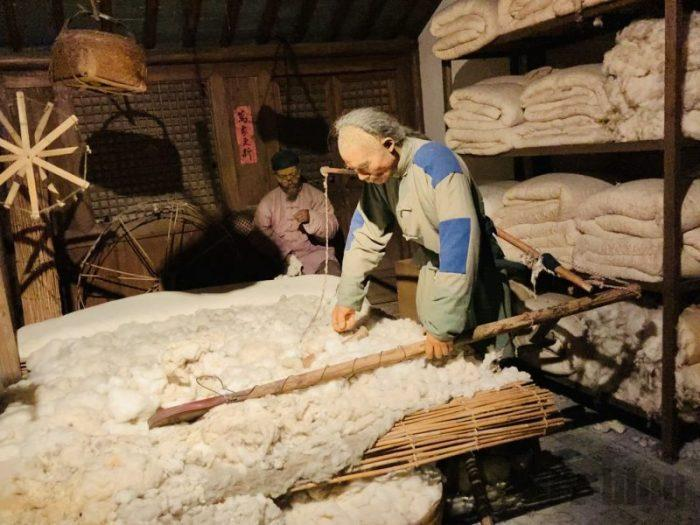 上海城市歴史発展陳列館 布団屋