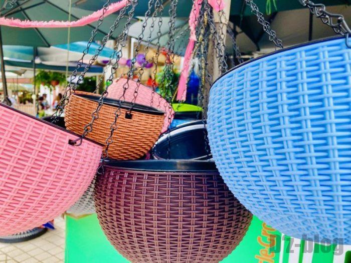 上海岚灵花鳥市場 籠