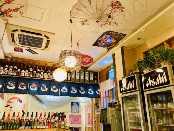 上海居酒屋花ちゃん 天井