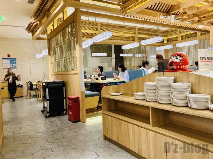 上海しゃぶしゃぶ温野菜 店内入り口