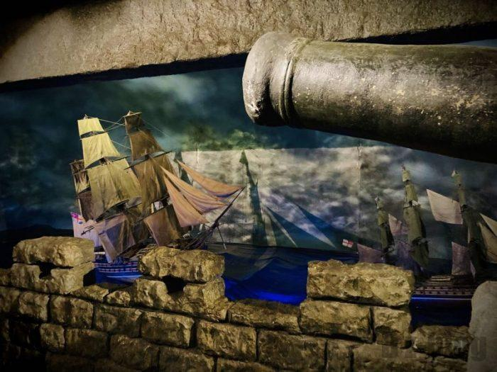 上海城市歴史発展陳列館 戦争イメージ