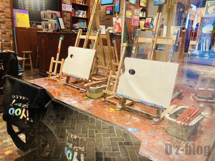 上海大悦城手作りエリア アート室