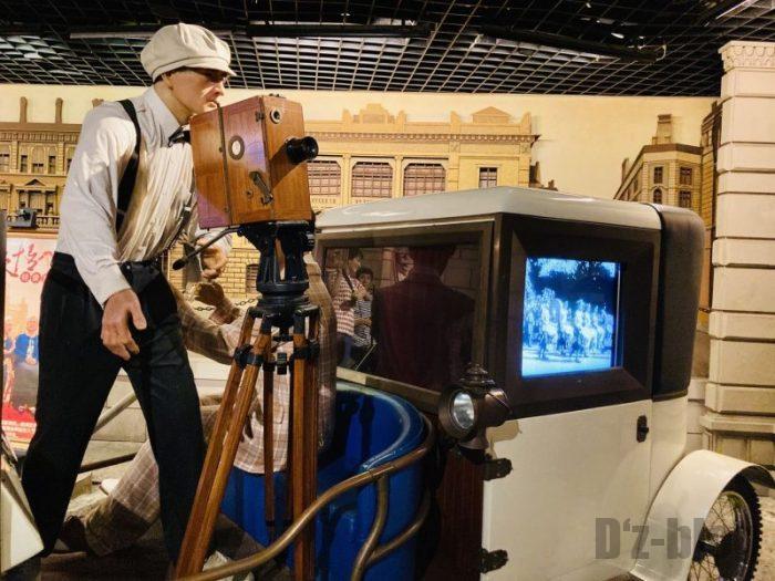 上海城市歴史発展陳列館 映画撮影