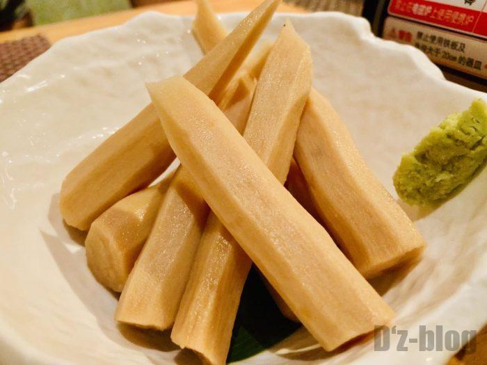 上海岳 山芋の醤油漬け
