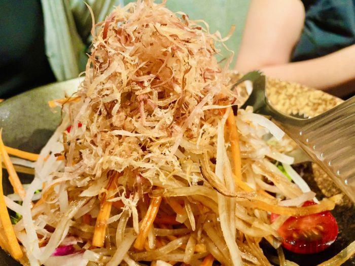 上海岳 大根サラダ