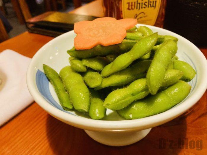 上海居酒屋花ちゃん 枝豆
