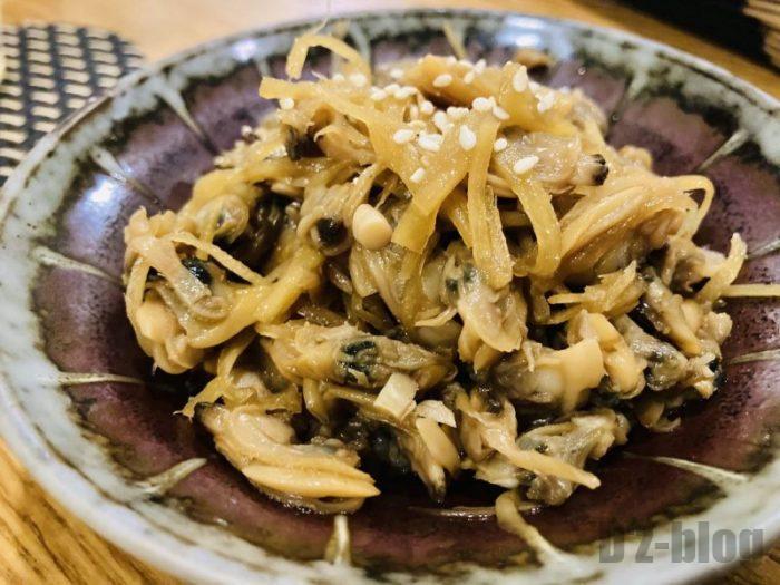上海tetote あさりしぐれ煮