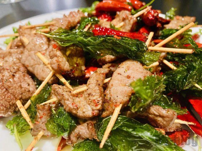 上海南蛮子 牙签牛肉