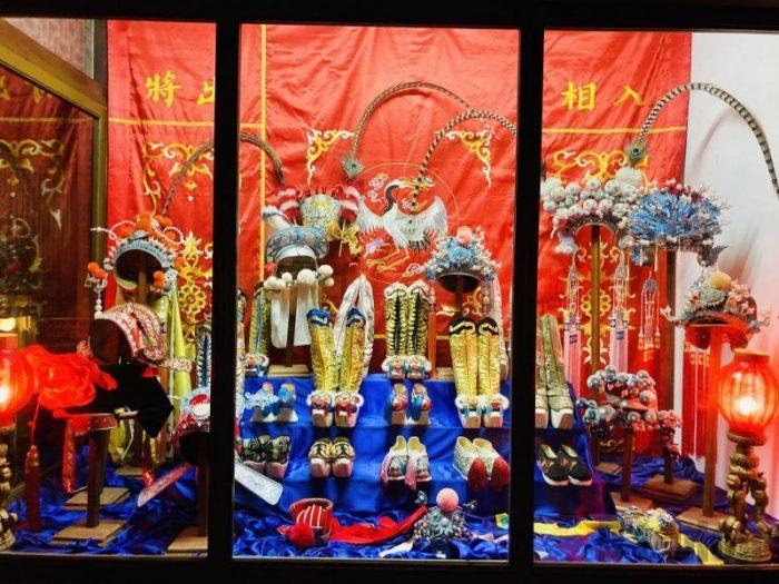 上海城市歴史発展陳列館 少数民族民族衣装