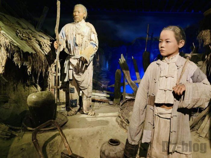 上海城市歴史発展陳列館 少数民族生活光景