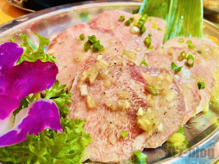 上海肉力屋 ネギ塩牛タン