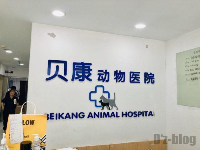 上海貝康動物医院 院内