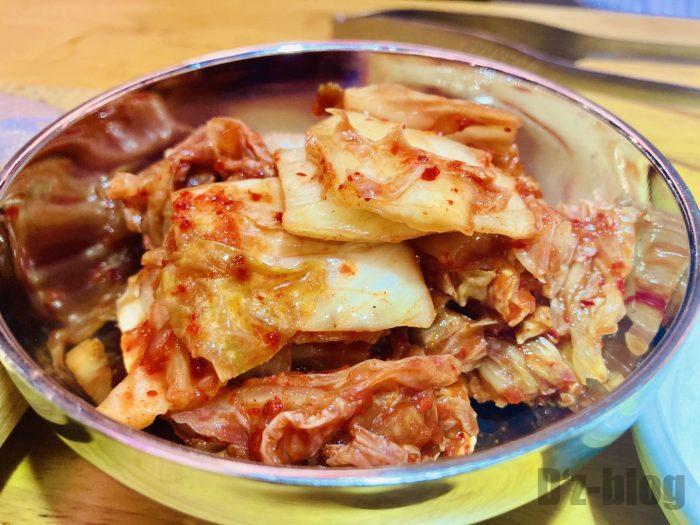 上海肉力屋 白菜キムチ
