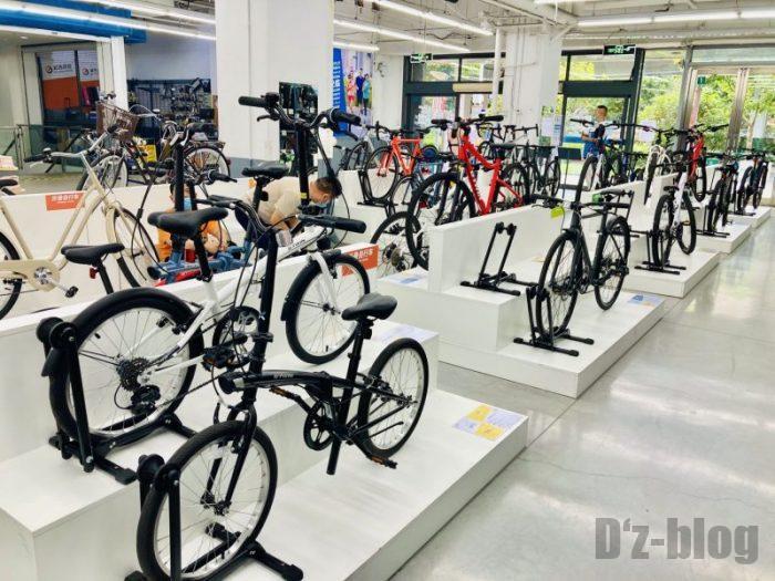 上海DECATHLON 自転車