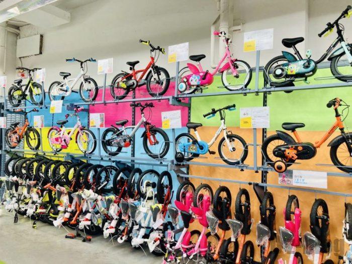 上海DECATHLON 子供用自転車
