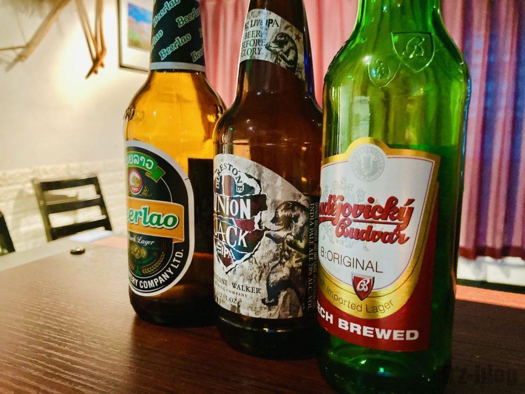 上海南蛮子 ディスプレイビール瓶