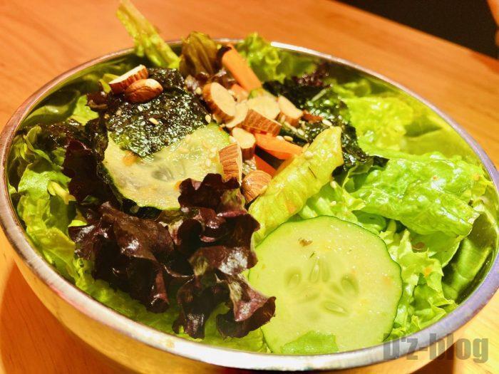 上海肉力屋 野菜サラダ