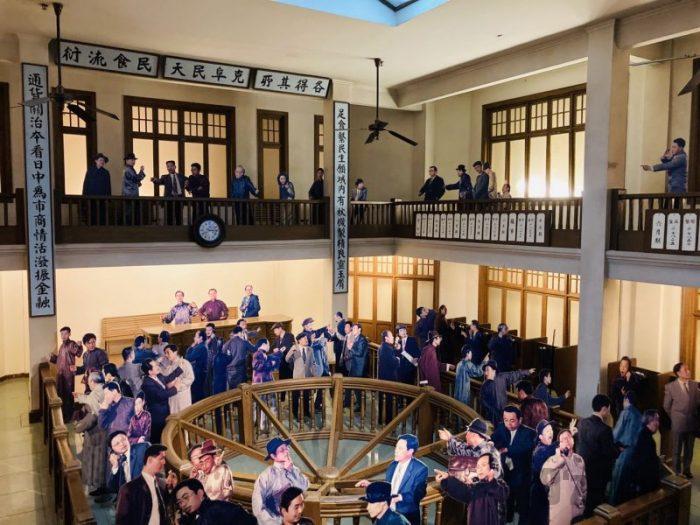 上海城市歴史発展陳列館 金融関係会議