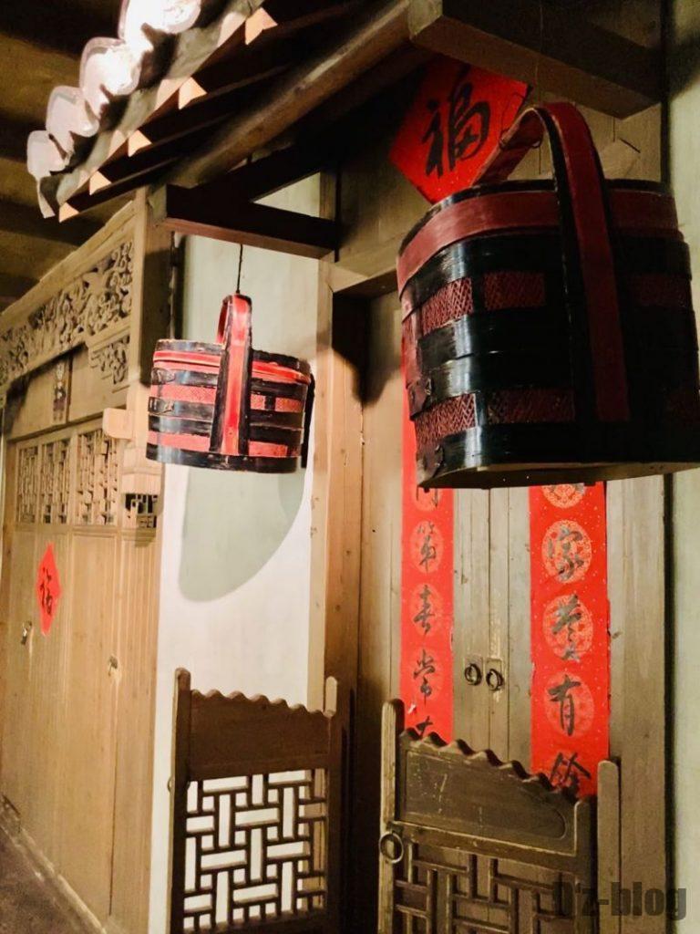 上海城市歴史発展陳列館 門と籠