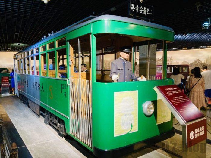 上海城市歴史発展陳列館 電車