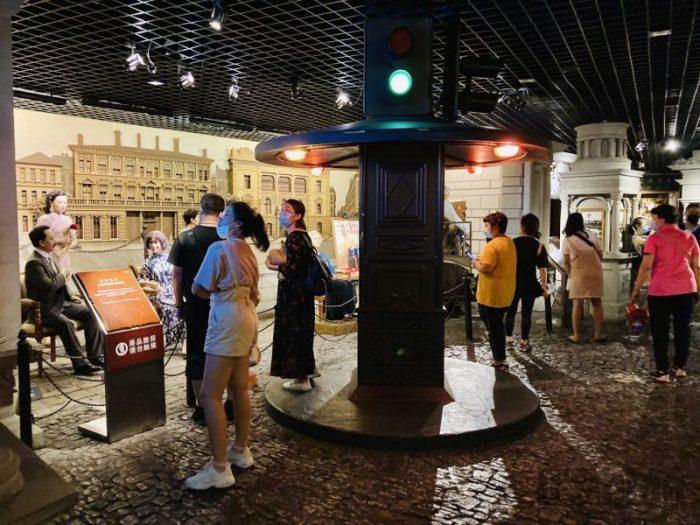 上海城市歴史発展陳列館 館内