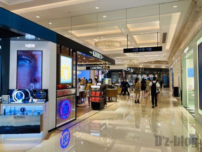 上海新世界大丸百貨店 別入り口からの目線