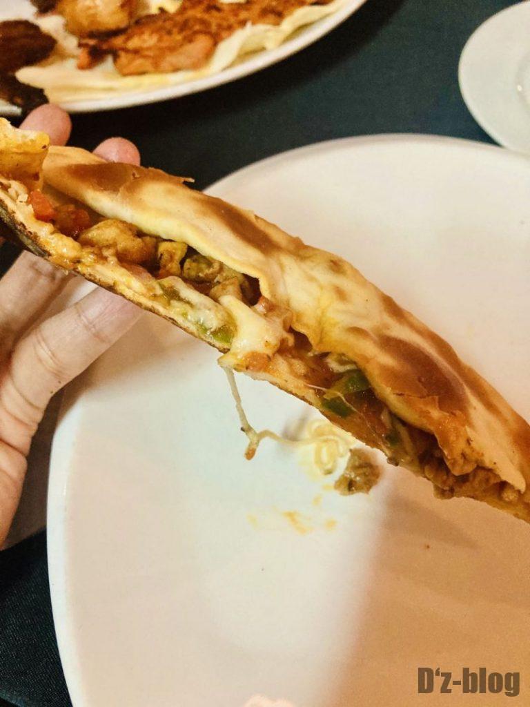 上海EFES TURKISH  鸡肉皮塔饼 断片